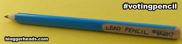 voting pencil