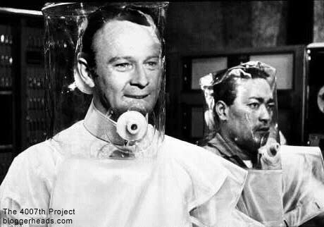 Frank Burns as Dr No