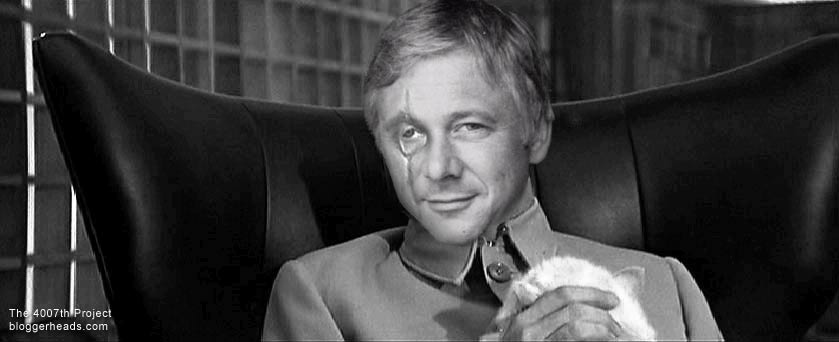 Father Mulcahy as Ernst Blofeld