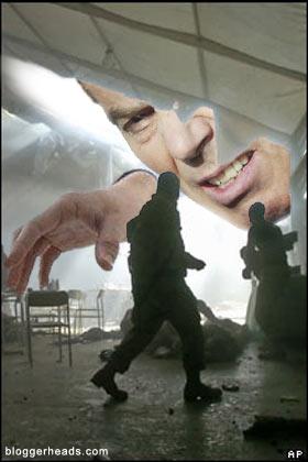 Blair in Iraq
