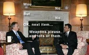 Blair meets Musharraf