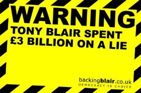 Tony Blair is a big, fat liar!