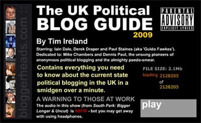 Blog Guide screengrab
