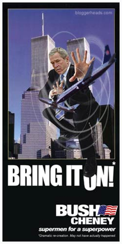 September 11th 2001 - George W. Bush saves the day!