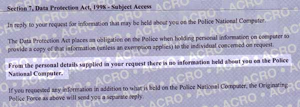 subject access national