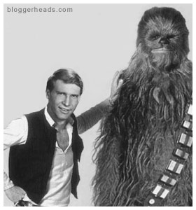 Han and Chewie in their salad days.