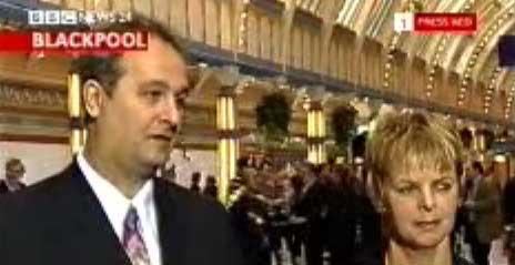 Iain Dale and Anne Milton