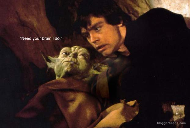 Yoda teaches Luke one final lesson