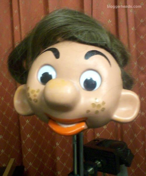 Michael Gove puppet