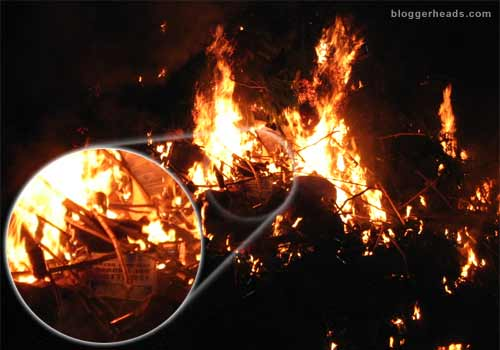 Rebekah Wade burns!