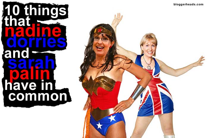 Sarah Palin and Nadine Dorries
