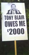 Tony Blair owes me £2000