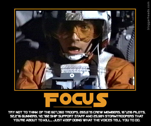 Luke Skywalker: Focus'