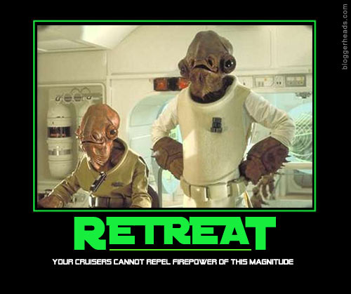 Admiral Ackbar: Retreat