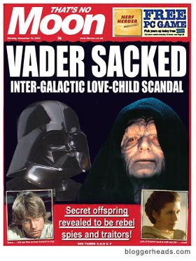 Imperial love-child SCANDAL!