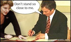 Ruth Kelly and Tony Blair