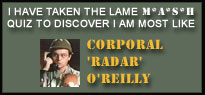 Click here to take the M*A*S*H quiz!
