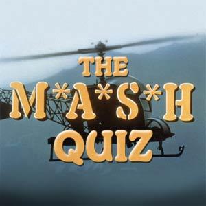 The MASH Quiz
